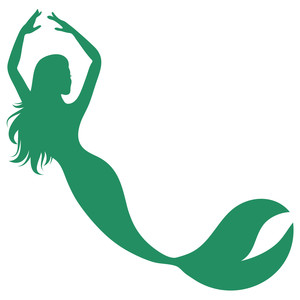 dancing mermaid