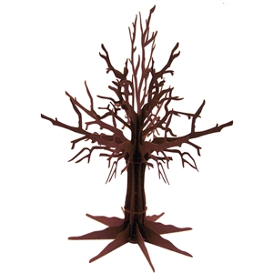 3d bare-branched tree