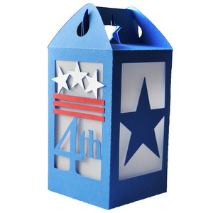 4th of july lantern