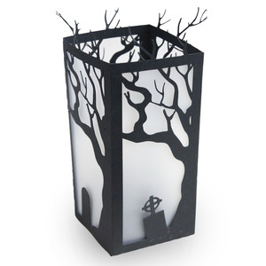 cemetery candle holder
