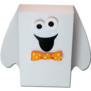 ghost treat box boy