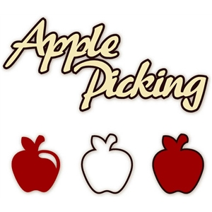 apple picking phrase & apples