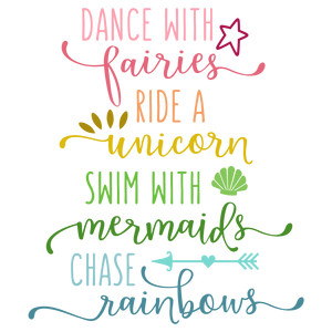 dance with fairies phrase