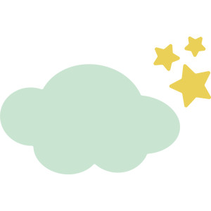 cloud and stars