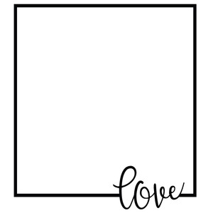 love square frame