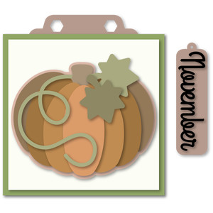 marquee november hang card