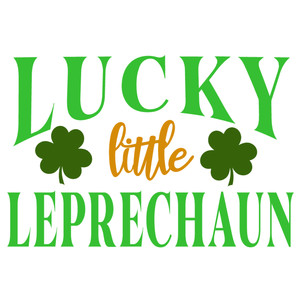 lucky little leprechaun