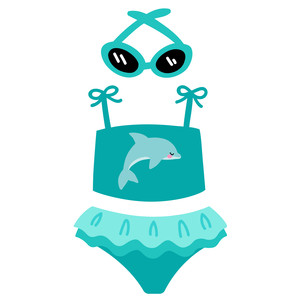 baby dolphin swimsuit