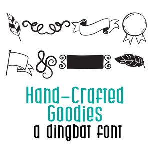 hand crafted goodies doodlebat
