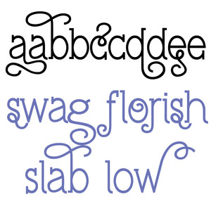 pn swag flourish slab low