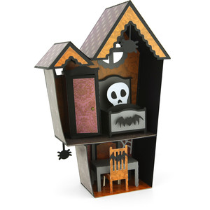 haunted house dollhouse