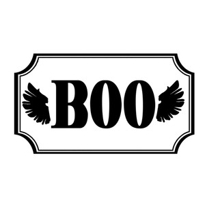 boo label