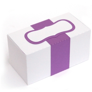 3d band box with label