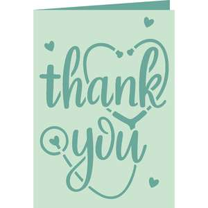 medical thank you card