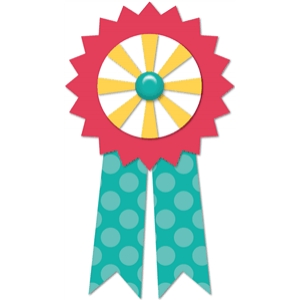 4-pc award ribbon