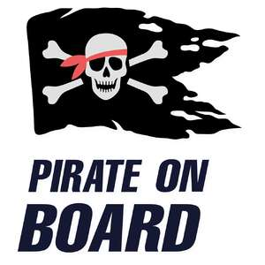 pirate on board