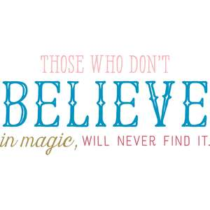 those who don't believe quote