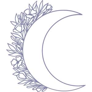moon floral