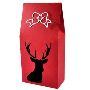 oh deer upright gift box