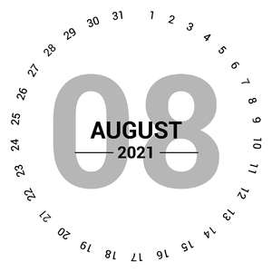 august 2021 circle