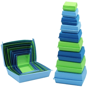 3-d stacking sandwich boxes