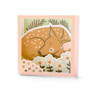 fawn shadowbox card