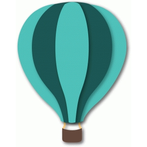 'basic' hot air balloon