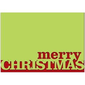 card: merry christmas