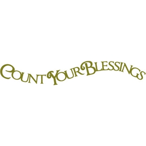 phrase: count your blessings