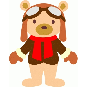 aviator teddy