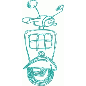 scooter sketch