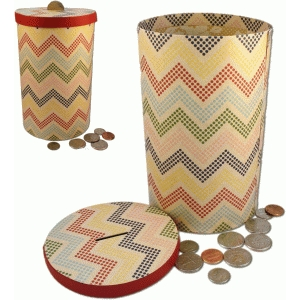 3d large tall coin bank