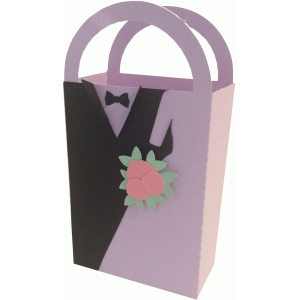 bride & groom gift bag