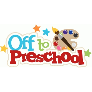 off to preschool title