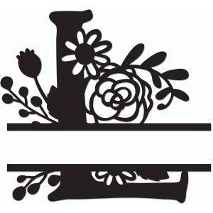 Permalink to Split Letter Monogram