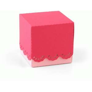 3d lace favor box