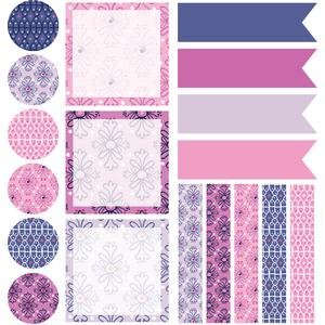 lavender dreams planner stickers