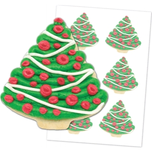 'christmas tree' cookies