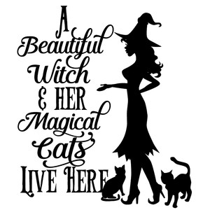 a beautiful witch