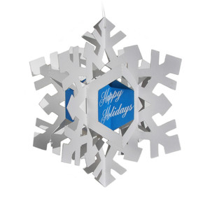 3d snowflake ornament/card