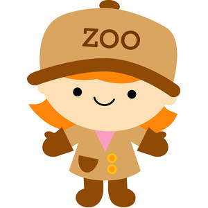 zoo keeper girl - at the zoo