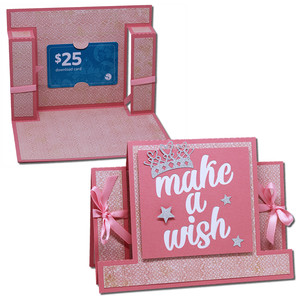 make a wish step card