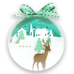 christmas deer ball