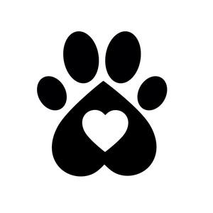 Dog Vs Cat Paw Print