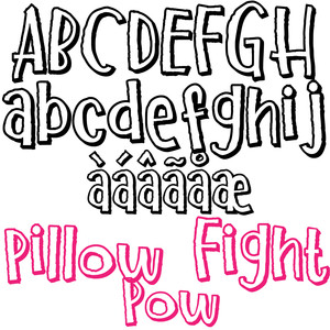 pn pillow fight pow