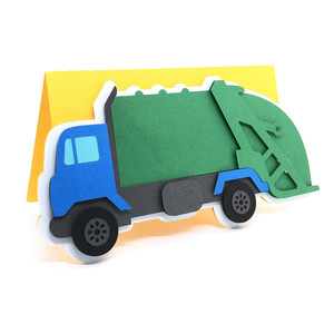 garbage truck card