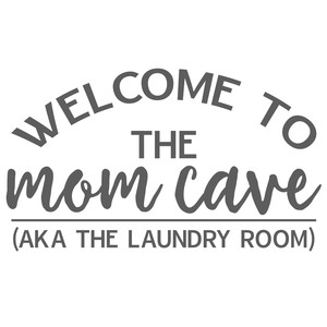 mom cave - laundry room