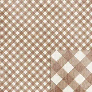 brown gingham background paper