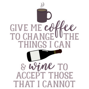coffee-wine saying