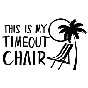 my timeout chair